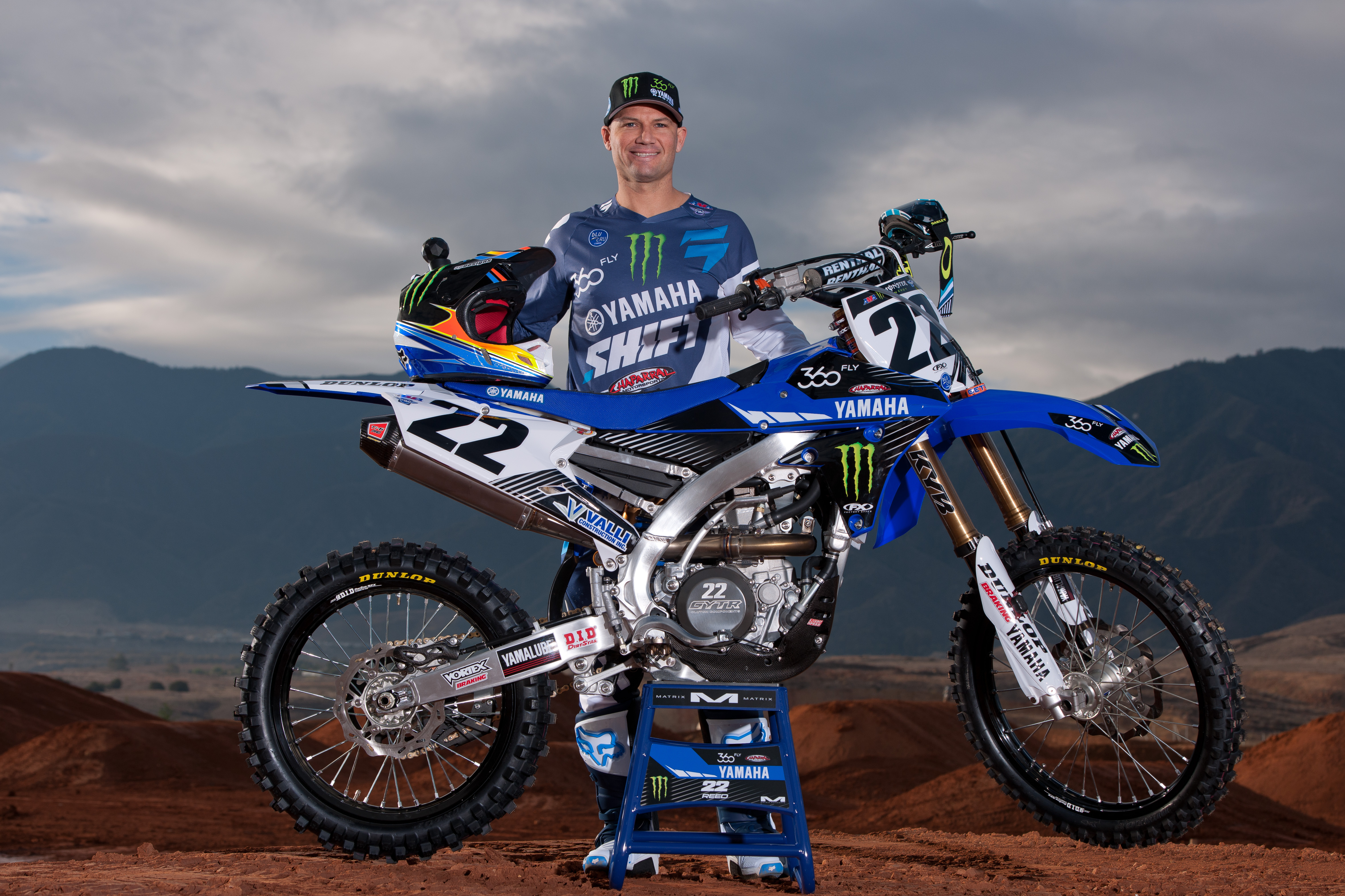 Cypress, CA - January 6, 2016 – Yamaha Motor Corporation, U.S.A., is  excited to re-introduce its factory Supercross team, which is officially  named Monster ...